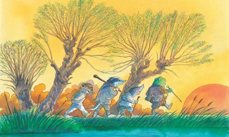 michael foreman illustration the wind in the willows