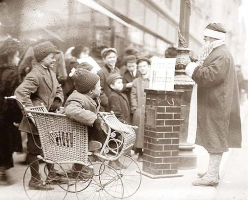 new york city christmas 1900 image from goodbooksforyoungsouls at blogspot