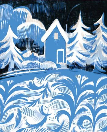once upon a northern night illustration isabelle arsenault