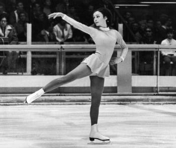 The one and only Peggy Fleming.