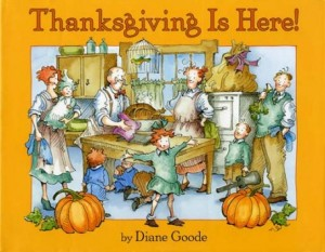 thanksgiving is here cover image
