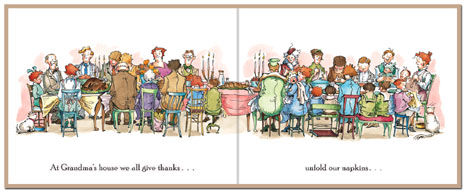 thanksgiving is here illustration diane goode