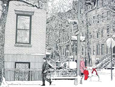 brooklyn winter from ipv-christmas-cards dot com