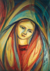 """Magnificat"" by Sister Mary Grace Thul, a Dominican nun in New Castle, Delaware from dwellingintheword dot files dot wordpress"