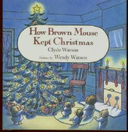how brown mouse kept christmas cover image