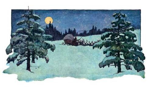 jessie wilcox smith twas the night before christmas