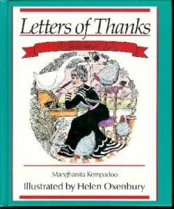 letters of thanks cover image