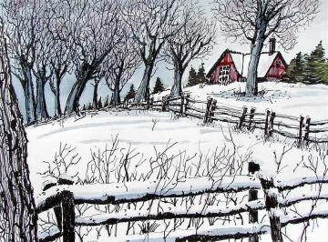 snow-field by terry-banderas from fineartamerica dot com