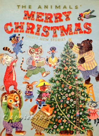 the animals merry christmas cover image2