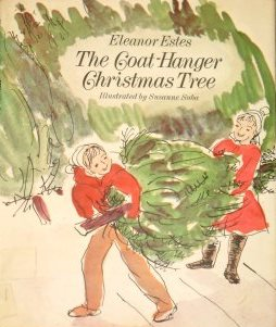 the coat hanger christmas tree cover image