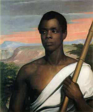 Cinque, who led the Amistad rebellion.