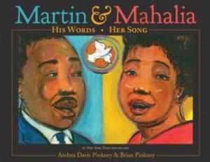 martin and mahalia cover image brian pinkney
