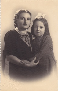 Odette Meyers and her mother