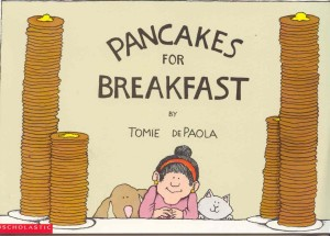 pancakes for breakfast cover image tomie depaola
