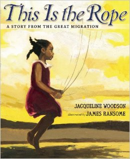 this is the rope cover image by james ransome