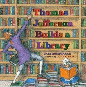 thomas jefferson builds a library cover image