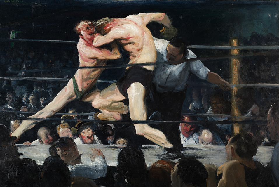 1909_Stag_at_Sharkey's by George Bellows
