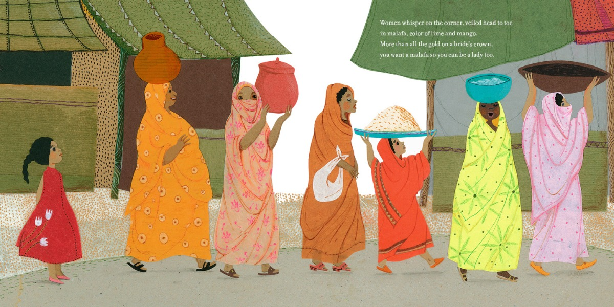 deep in the sahara illustration hoda hadadi from blaine dot org
