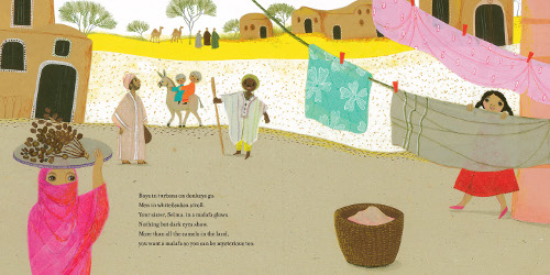 deep in the sahara illustration2 hoda hadadi from jacketflap