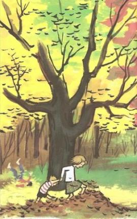 from a tree is nice illustration marc simont