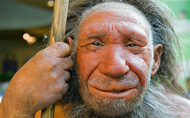 Neanderthal_Man_from telegraph dot co dot uk