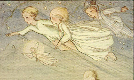 peter pan illustration by kathleen atkins