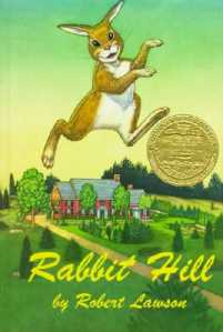 rabbit hill cover image robert lawson