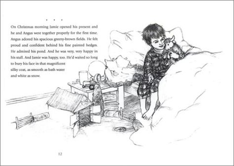 the jamie and angus stories illustration penny dale