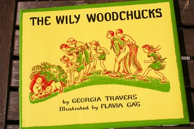 the wily woodchucks cover image from thebookchildren dot com