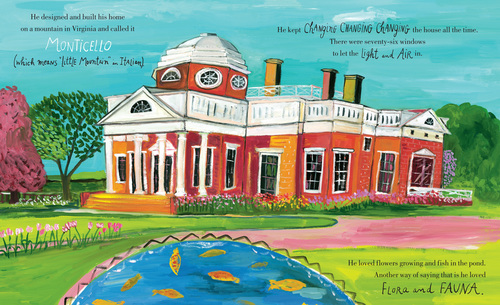 thomas jefferson life liberty and the pursuit of everything illustration maira kalman