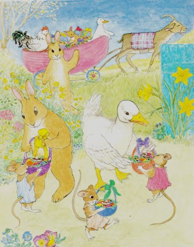 easter parade illustration mary chalmers 001