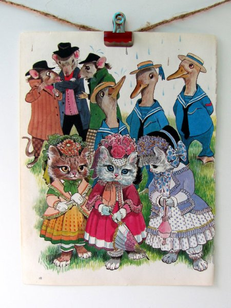 frank baber mother goose illustration