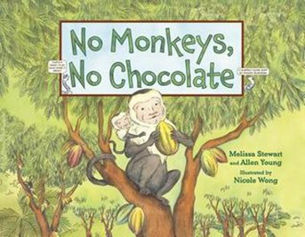 no monkeys no chocolate cover image