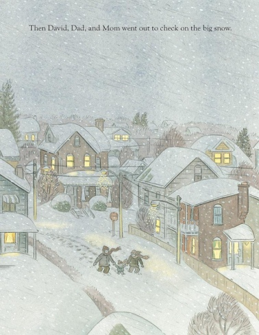 big snow illustration jonathan bean