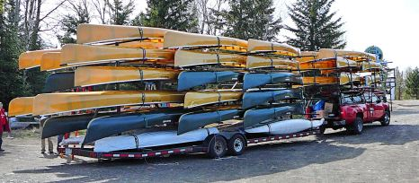 canoes for the gunflint from bearskin dot files dot wordpress