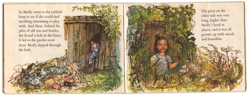 moving-molly by shirley hughes