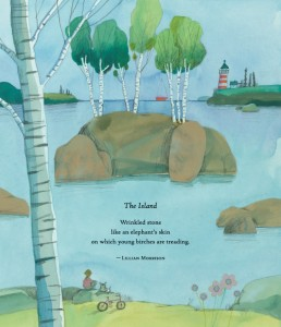 the island lillian morrison illustrated by Melissa Sweet