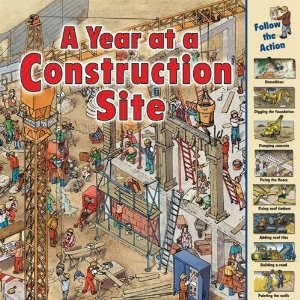 a year at a construction site cover image