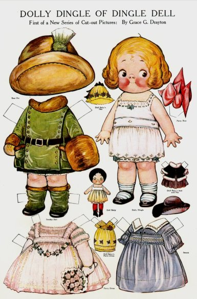 dolly dingle paperdoll