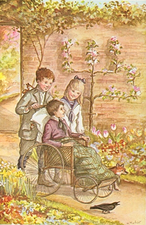 a secret garden illustration4 tasha tudor