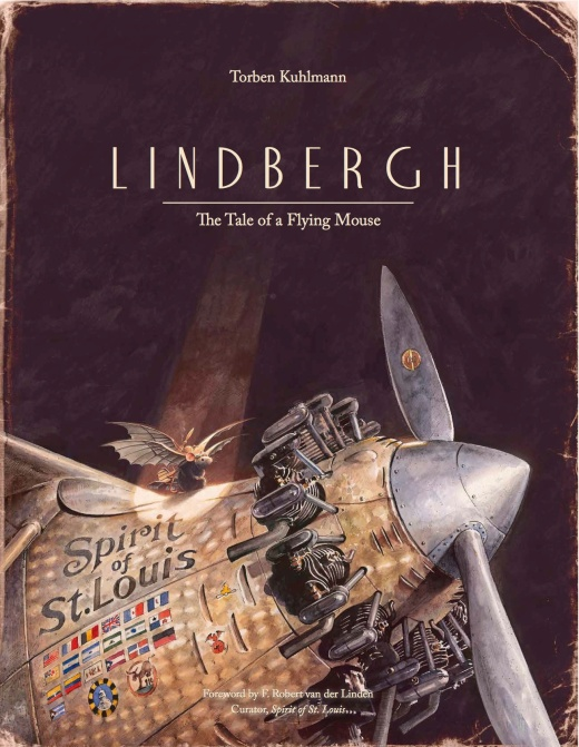 Lindbergh the tale of a flying mouse cover image torben kuhlmann