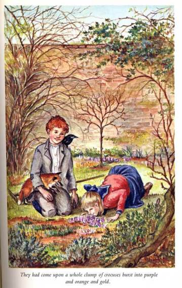 the secret garden illustration tasha tudor