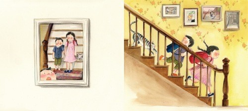 this is our house illustration hyewon yum