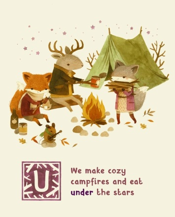 adventures with barefoot critters illustration teagan white