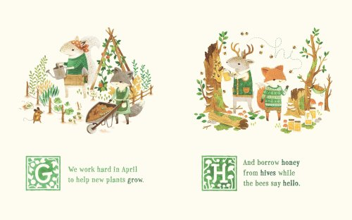 adventures with barefoot critters illustration2 teagan white