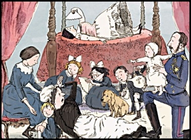 queen victoria's bathing machine illustration nancy carpenter