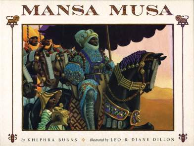 mansa musa the lion of mali cover image