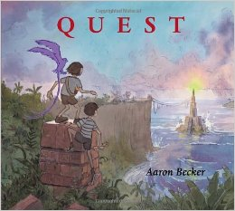 quest cover image aaron becker