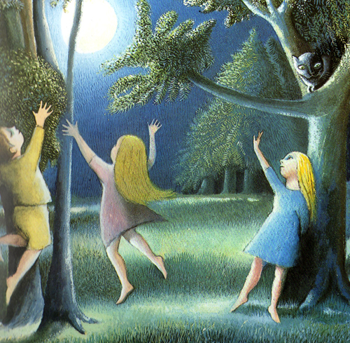 the moon jumpers illustration maurice sendak