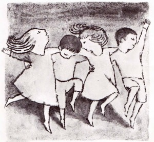 the moon jumpers illustration2 maurice sendak